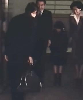 皇太子とマジソンバッグ