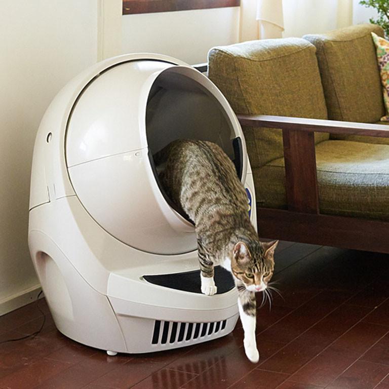 猫トイレ「キャットロボット オープンエアー」